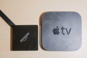 FiretvとAppleTVの比較