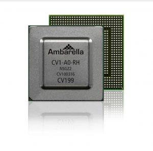 Ambarellaの秘密兵器「CV1」